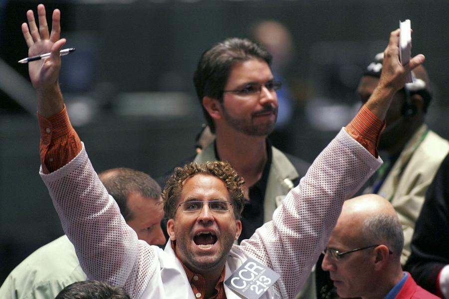 Znowu kupują! fot. Bloomberg