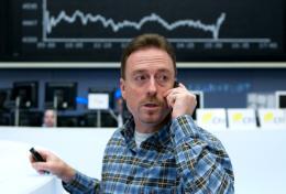 Makler na niemieckiej giełdzie