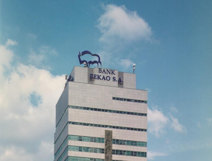 Główna siedziba banku Pekao SA w Warszawie. Fot. materiały prasowe Pekao