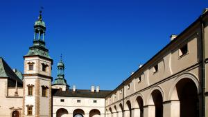 Pałac Biskupów w Kielcach.