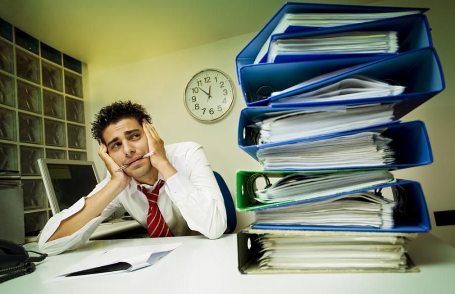 biuro, zmęczenie, praca,
