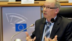 Janusz Lewandowski, komisarz Unii Europejskiej ds. budżetu, wcześniej przewodniczący komisji budżetowej Parlamentu Europejskiego, w latach 1990 – 1993 minister przekształceń własnościowych Fot. Komisja Europejska