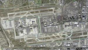 Port lotniczy Los Angeles International Airport w Kalifornii Fot. commons.wikimedia.org, NASA World Wind