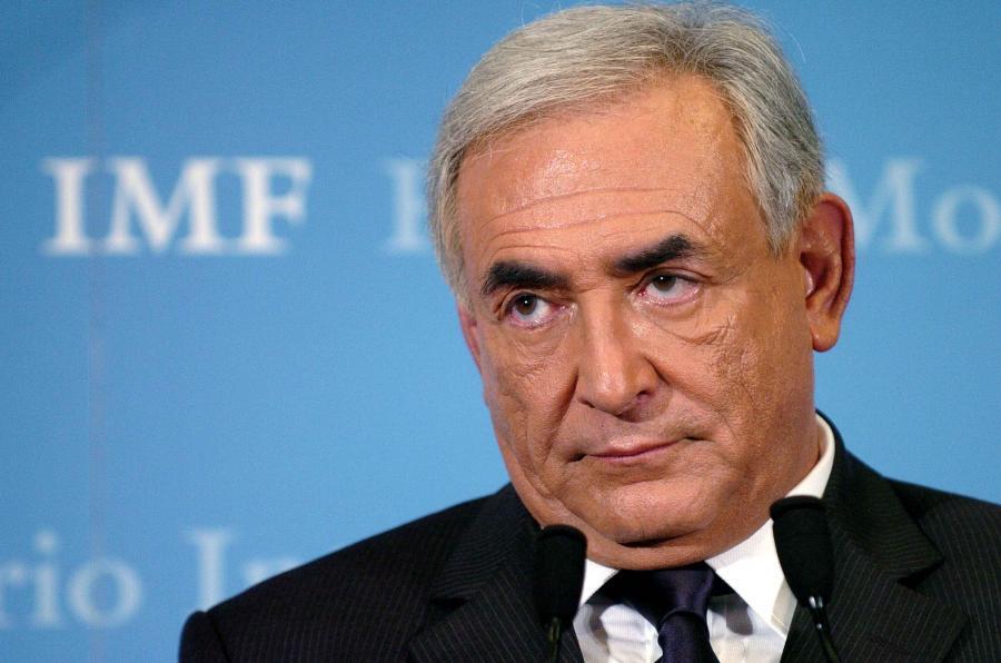 Szef Międzynarodowego Funduszu Walutowego Dominique Strauss- Kahn