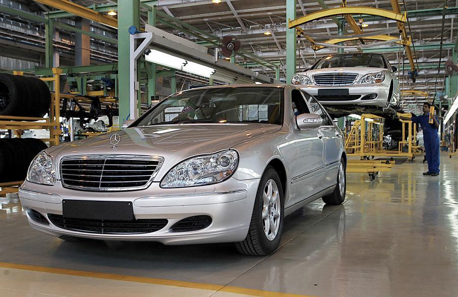 Gorzów zrobi części do Mercedesa klasy S
