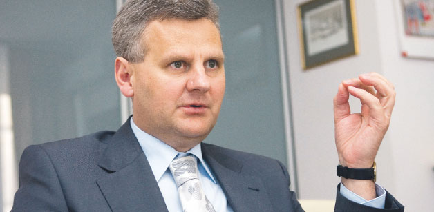 Aleksander Grad, minisetr skarbu państwa