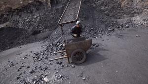 Kopalnia węgla w prowincji Shanxi, Chiny. Fot. 1, mat. Bloomberg