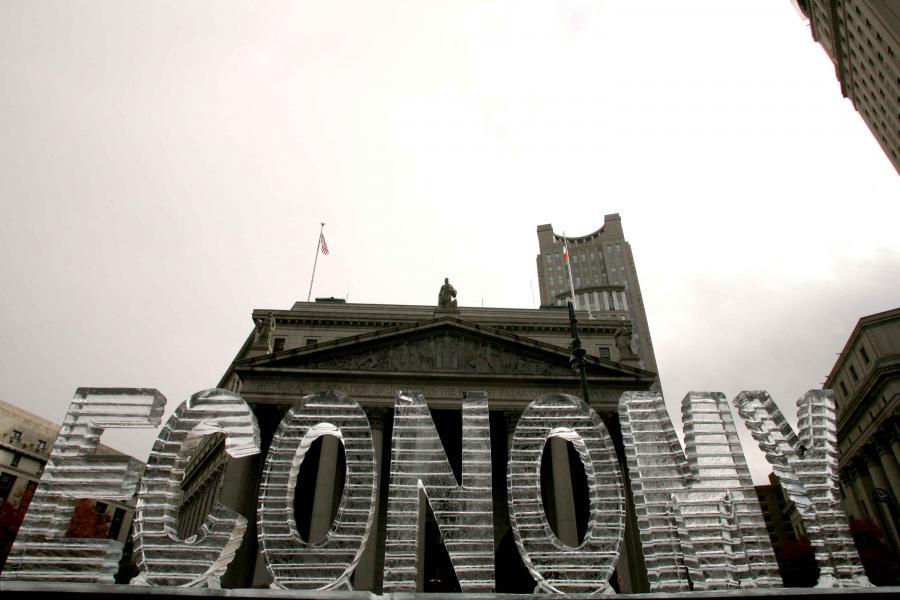 Nowy Jork, rzeźba Economy