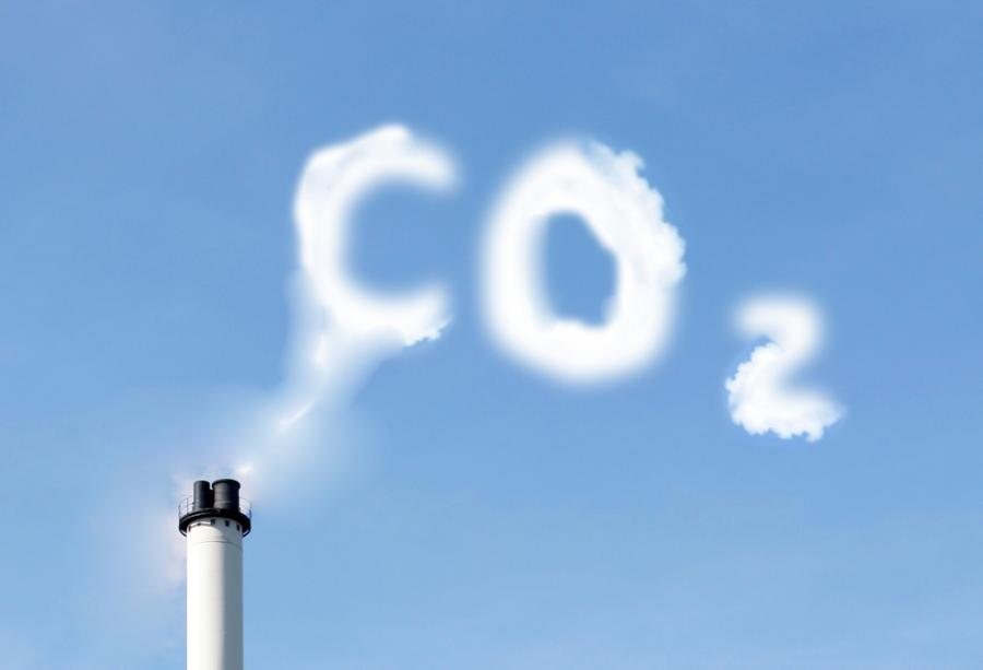 Komin i CO2