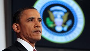 Prezydent USA Barack Obama przemawia w National Defense University w Waszyngtonie, DC, USA