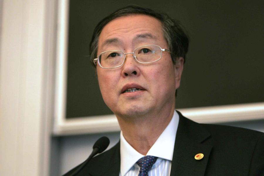 Zhou Xiaochuan, szef chińskiego banku centralnego - Bank of China