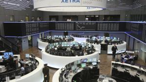Giełda Papierów Wartościowych, Deutsche Boerse, Frankfurt Stock Exchange, Frankfurt, Niemcy