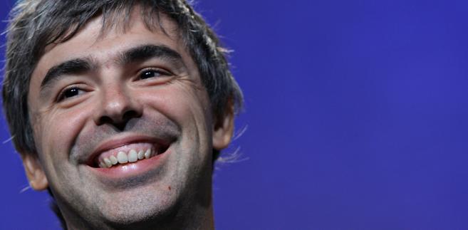 Larry Page, współzałożyciel Google Inc.
