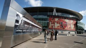 Emirates Stadium - stadion należący do klubu Arsenal Londyn