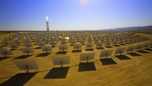 Centrum rozwoju BrightSource. Podobnie będzie wyglądała największa elektrownia słoneczna świata: Ivanpah Solar Electric Generating System (ISEGS) w Kalifornii. Wybuduje ją firma BrightSource. Fot. materiały BrightSource
