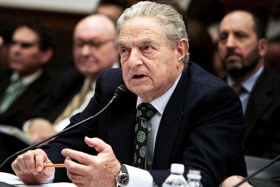 George Soros ostrzega przed Rosją. Fot. Bloomberg