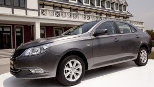 Baojun 630 - samochód grupy General Motors przeznaczony na rynek chiński, targi samochodowe w Szanghaju (2). fot. Nelson Ching/Bloomberg