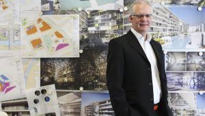 Projektant Ken Shuttleworth to twórca m.in. budynku spółki Re Swiss, zwanego Gherkin (z ang. korniszon), w londyńskim City.