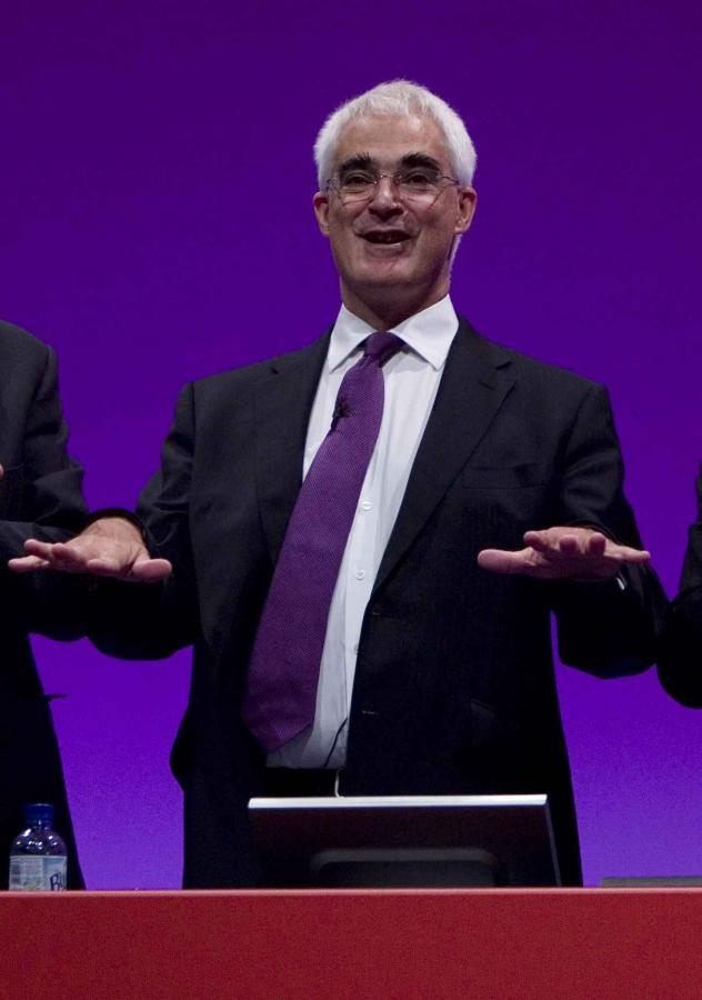 Minister finansów W. Brytanii Alistair Darling