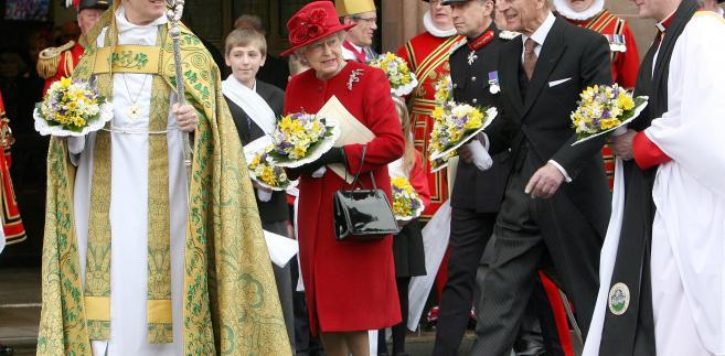 Królowa Elżbieta II i książe Filip