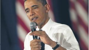 Sztab Obamy liczy na zebranie w tej kampanii miliarda dolarów Fot. Bloomberg