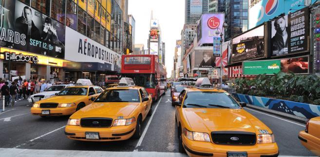 Stare żółte taksówki w Nowym Jorku zostaną zastąpione przez japońskie Nissany