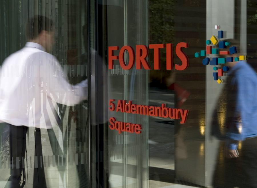 Fortis Bank pożyczył od belgijskiej spółki-matki 600 mln euro.
