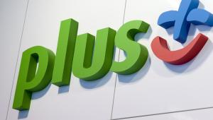 Logo operatora Plus, należącego do spółki Polkomtel