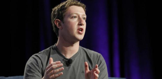Mark Zuckerberg, Facebook Inc, przemawia na konferencji Web 2.0 w San Francisco, Kalifornia, USA