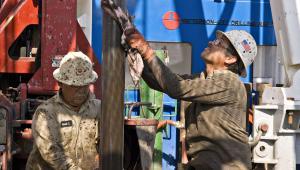 Wydobycie gazu łupkowego w USA