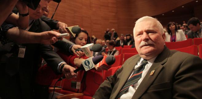 Tak wyglądał Europejski Kongres Gospodarczy w 2010 roku. Na zdjęciu były prezydent RP Lech Wałęsa, który także w tym roku będzie obecny na Kongresie. Fot. materiały prasowe