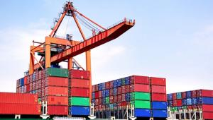 kontenery, port, dok, transport morski