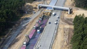 Autostrada A2 na odcinku Świecko - Nowy Tomyśl. Źródło: Ministerstwo Infrastruktury, fot. Autostrada Wielkopolska