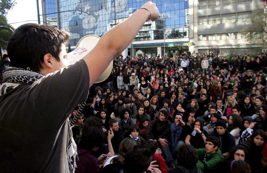 Zamieszki i protesty w Grecji