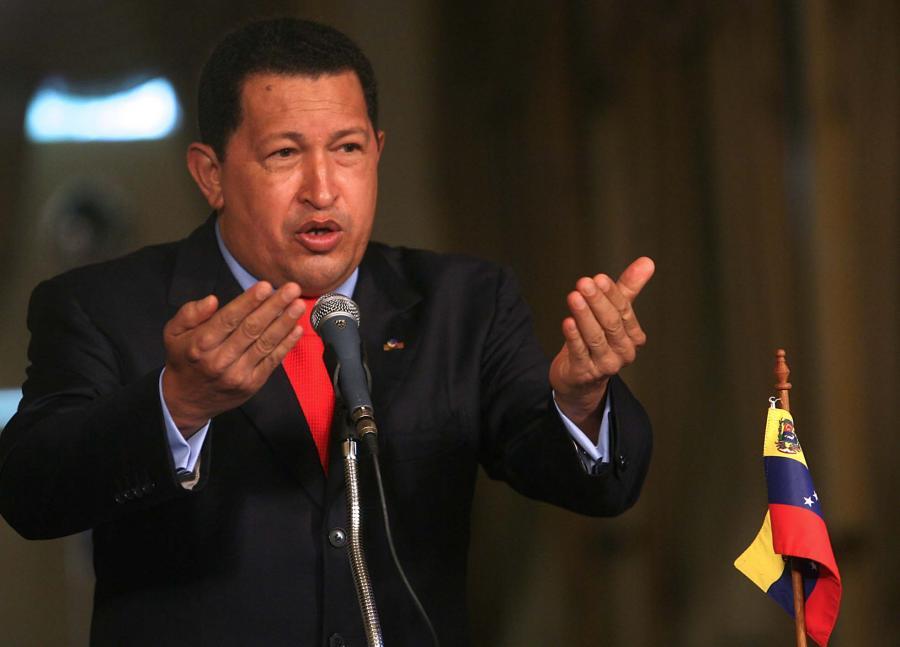 Hugo Chavez, prezydent Wenezueli