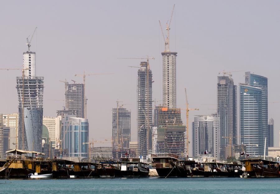 Dauha, stolica Kataru.