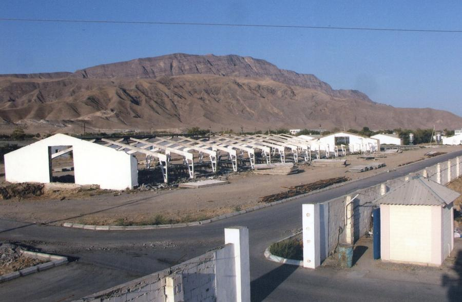 Ferma drobiu w Turkmenistanie