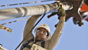 Wydobycie gazu łupkowego w Teksasie