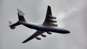 Największy samolot świata Antonov An-225. Fot. Sergey Kamshylin / Shutterstock.com