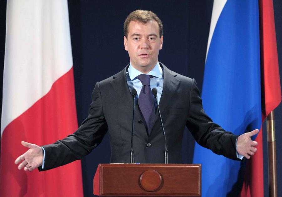 Premier Rosji Dimitri Miedwiediew