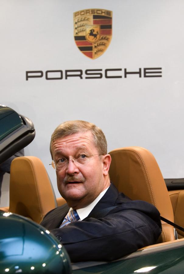 Prezes Porsche Wendelin Wiedeking