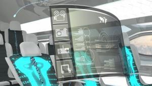 Koncepcja kabiny samolotu pasażerskiego firmy Airbus. Fot. Airbus.com