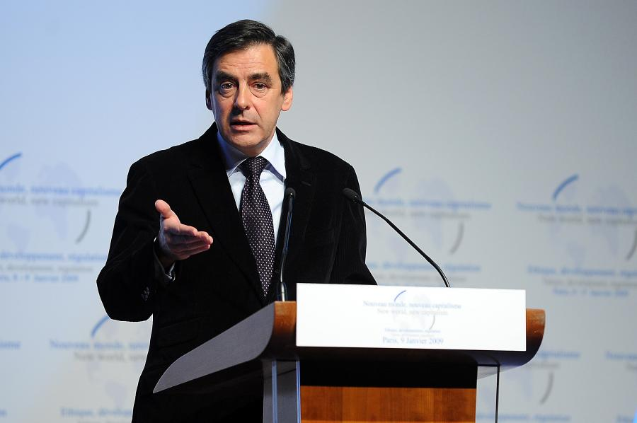 Francois Fillon fot. Bloomberg