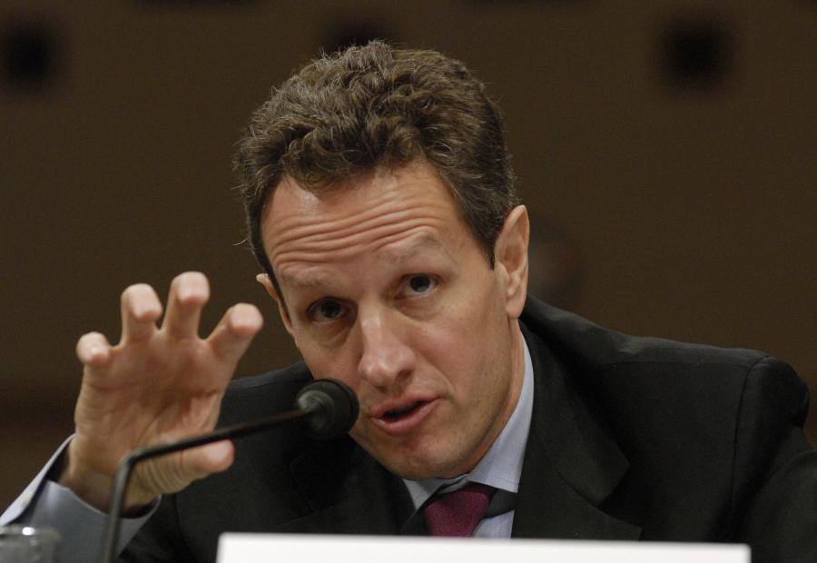 Sekretarz Skarbu - Timothy Geithner