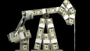 Ropa, dolary For. Shutterstock