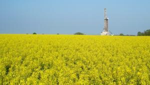 Odwiert Łebień LE-2H firmy 3Legs Resources - pierwsze miejsce w Polsce, gdzie odkryto złoża gazu łupkowego (5). Fot. materiały 3Legs Resources