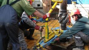 Odwiert Łebień LE-2H firmy 3Legs Resources - pierwsze miejsce w Polsce, gdzie odkryto złoża gazu łupkowego (7). Fot. materiały 3Legs Resources