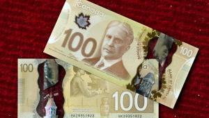 Nowy kanadyjski 100-dolarowy banknot