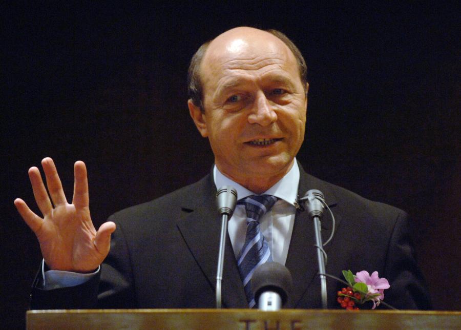 Traian Basescu, prezydent Rumunii