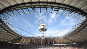 Stadion Narodowy w Warszawie: zakończono montaż dachu (4). Fot. Narodowe Centrum Sportu